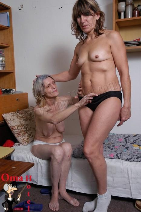 Grannie porno billede